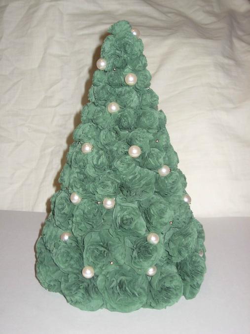 Сделать елку из салфеток своими руками мастер класс