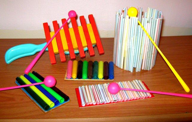 Как своими руками сделать детский музыкальный инструмент
