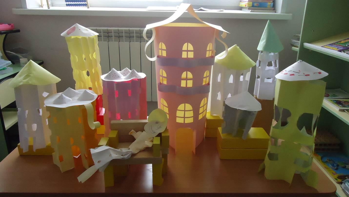 Поделки по конструированию в детском саду