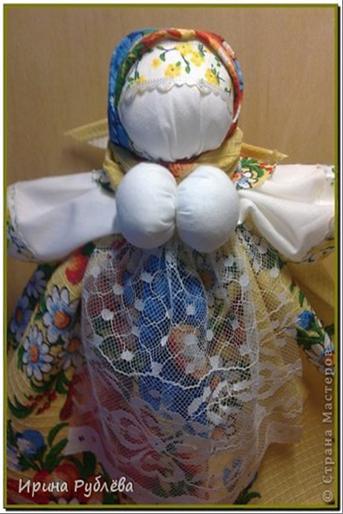 Мастер класс по куклы оберега